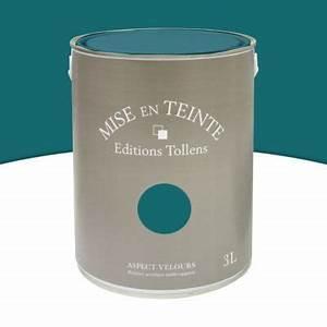 Peinture murs et boiseries vert empire mat velours 3l for Nuancier de couleur peinture 15 peinture murs et boiseries vert empire mat velours 3l