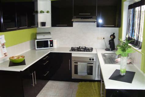 cuisine verte pomme meuble cuisine vert pomme collection avec deco cuisine