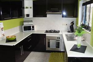 meuble cuisine vert pomme collection avec deco cuisine With deco cuisine avec lit meuble