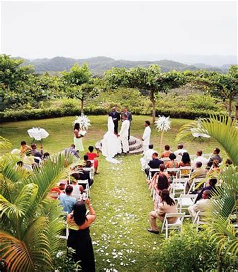 garden wedding in jamaica wedding honeymoon venues