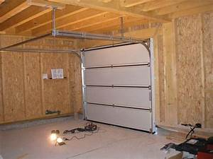 porte de garage lumithero With installation porte garage