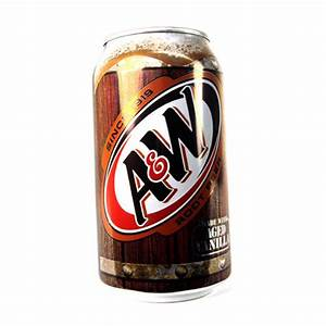 A&W Root Beer Can - Drinks