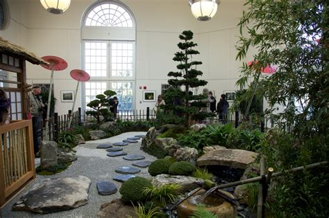 Zen Garten Indoor by An Indoor Zen Garden At The Us Botanic Garden