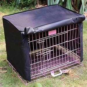pet dog cat cage cover waterproof dustproof pet crate With waterproof dog kennel cover