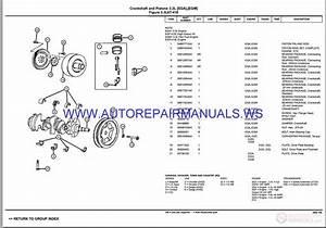 Chrysler Dodge T U0026c Voyager Rs Parts Catalog  Part 2  2003