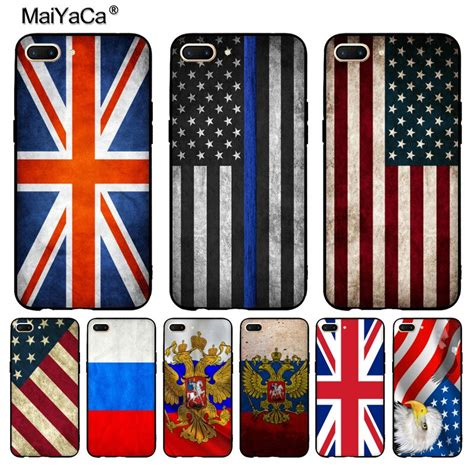 maiyaca russian american flag phone accessories for oppo r9 r9s r11 plus