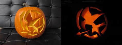 hunger pumpkin carving hunger games pumpkin by laurenkitsune on deviantart