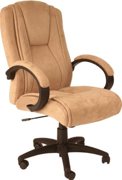 comfort products 60 0971 padded microfiber executive chair