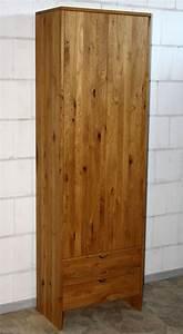 Massivholz kleiderschrank dielenschrank schrank wildeiche for Schrank wildeiche