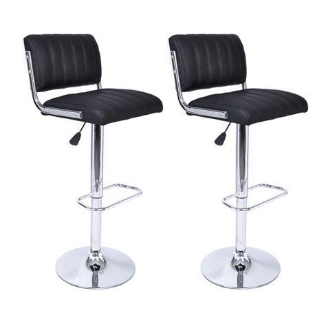 housse chaise de bureau tabouret de bar vintage noir tabouret de bar topkoo
