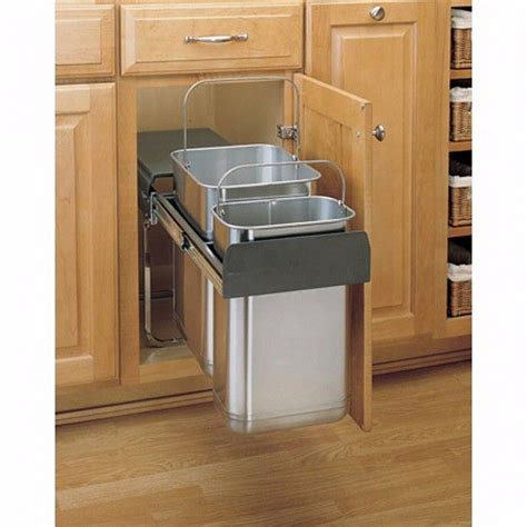 under cabinet trash bins 1000 ideas about waste container on pinterest trash