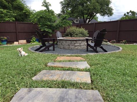 pit landscape outdoor fireplaces fire pits and fire features in dallas tx