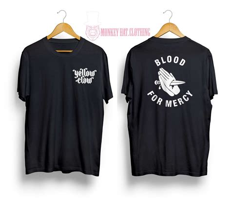 Kaos Yellow Claw Youth jual tshirt kaos edm yellow claw blood for mercy yellow