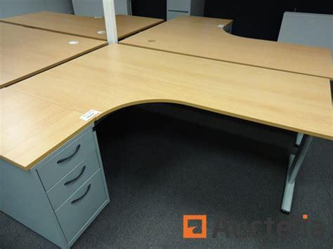 bureau en coin bureau d 39 angle coin avec meuble à tiroir