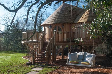 Experience Luxury Glamping In Trewalter Treehouse Our