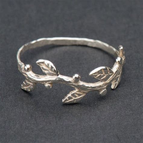 twig ring ideas  pinterest branch ring