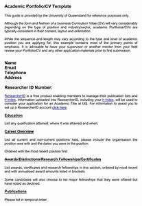 download academic portfolio cv template for free With academic portfolio template