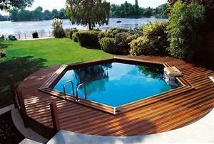 Terrasse Piscine Hors Sol : piscine hors sol bois ou acier arts et voyages ~ Dailycaller-alerts.com Idées de Décoration