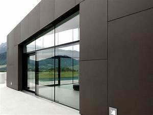 concrete cladding smooth panel fibre c facade rieder smart With plaque de ciment exterieur