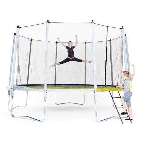 echelle pour trampoline domyos essential    cm domyos  decathlon