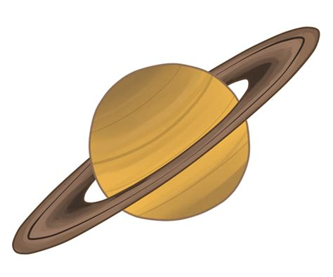 rubber in a can saturn planet clipart