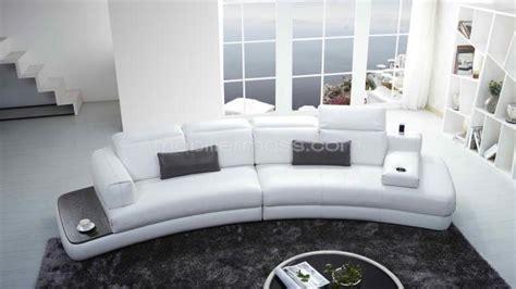 canape blanc cuir design photos canapé design cuir blanc