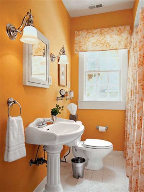 orange bathroom paint ideas  creative paint colors