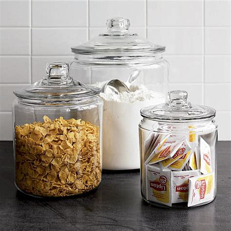 glass kitchen storage jars stylish food storage containers for the modern kitchen 3801