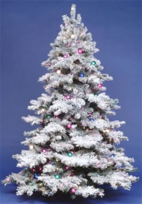 how to flock a christmas tree 12 foot dura lit artificial christmas tree alaskan flock clear full height 12 foot width