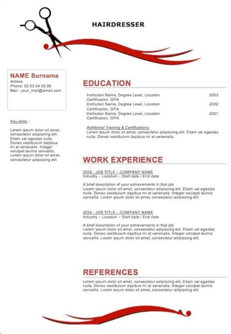 licensed cosmetologist resume sle 28 images beautician
