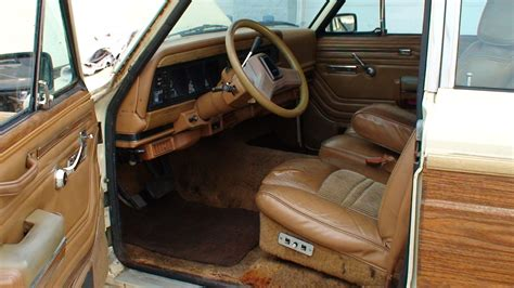1991 jeep wagoneer interior 1986 jeep grand wagoneer pictures cargurus