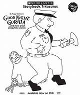 Gorilla Coloring Night Clipart Zookeeper Goodnight Activities Pages Preschool Zoo Theme Printable Animals Skills Social Etsy Getcolorings Clipground Boom Toddler sketch template