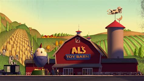 Story 2 Barn Encounter by Al S Barn Pixar Wiki Fandom Powered By Wikia