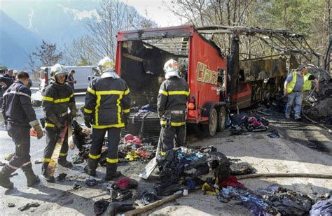 Briton Killed As Coach Crashes In The French Alps Metro News