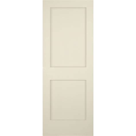 builders choice 28 in x 80 in 2 panel shaker solid