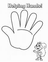 Coloring Hands Hand Helping Pages Drawing Palm Handcuffs Printable Template Holding Sheet Getcolorings Getdrawings Praying Sketch Templates sketch template
