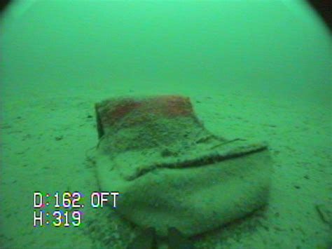 videoray underwater robot finds wallet lost  years