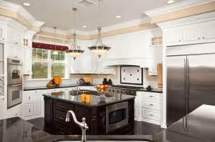 White Kitchen Islands 36 Beautiful White Luxury Kitchen Designs Pictures