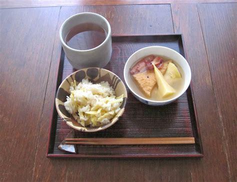 cuisine de tous les jours cuisine de tous les jours たけのこづくしの朝食