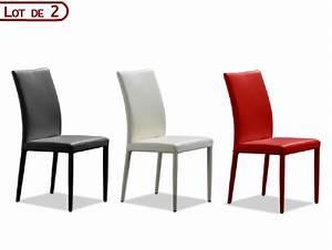 Organisation chaise de cuisine cuir noir for Deco cuisine avec chaise cuir noir
