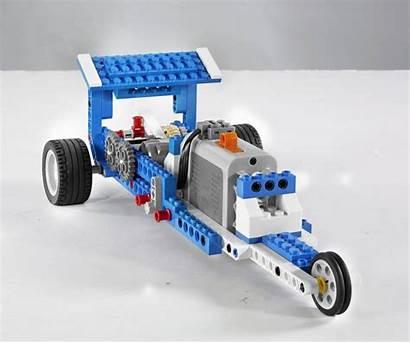 Lego 9686 Machines Education Technik Eenvoudige Aangedreven