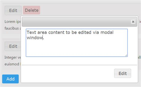 jquery ajax add edit modal window phppot