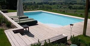 Piscine Avec Terrasse Bois : terrasse en bois avec piscine nos conseils ~ Nature-et-papiers.com Idées de Décoration