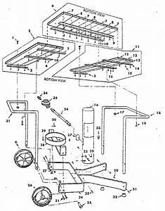 Cart Diagram  U0026 Parts List For Model 2582337910 Craftsman