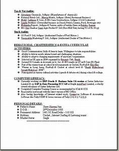 ca professional resume format free download With professional resume format download