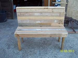 Diy pallet bench instructions pallet furniture plans for Homemade furniture instructions