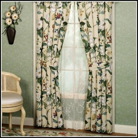 Waverly Garden Room Vintage Rose Curtains   Curtains