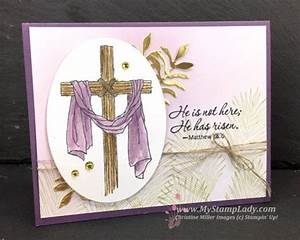 Stampin' Up! Easter Message handmade Easter greeting card ...