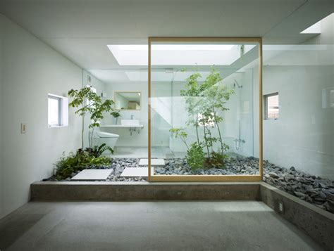 modern bathroom design garden in house interior4 home