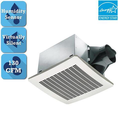delta breez signature series 130 cfm humidity sensing ceiling bathroom exhaust fan vfb25aeh